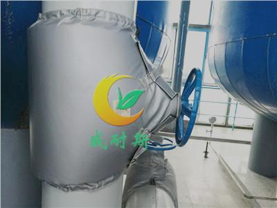 可拆卸保温套可拆卸软保温罩的应用