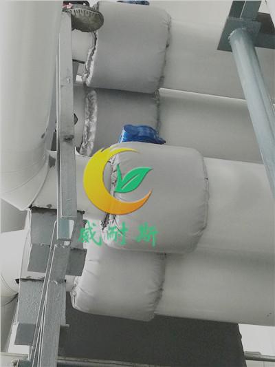 可拆卸软保温罩可拆卸保温被专业厂家
