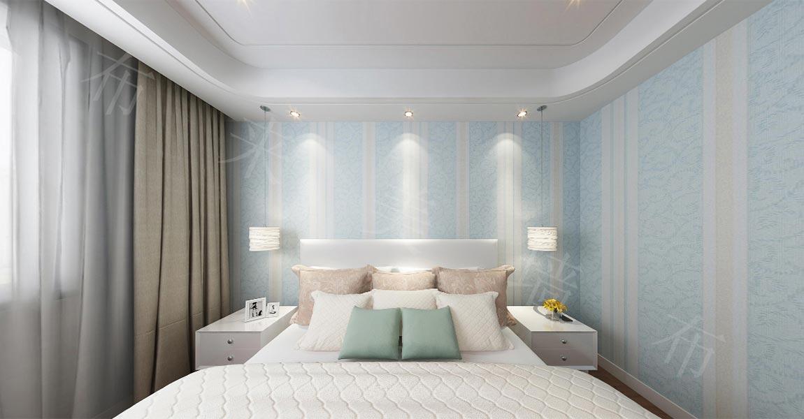 背景墙 房间 家居 起居室 设计 卧室 卧室装修 现代 装修 1150_600图片