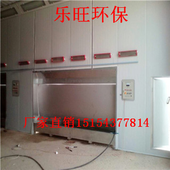 七台河市木工机械烤漆房设备安装 黑龙江水帘柜家具烤漆房定做 高温喷烤房设备图片