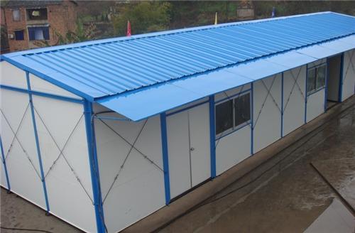 上海闵行区新桥镇搭建维修夹芯板活动房工地活动房