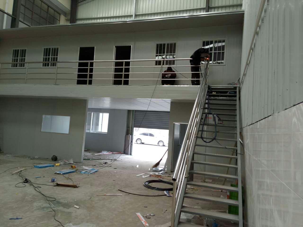 上海嘉定区马陆厂家直销彩钢夹芯板活动板房室内外都好用