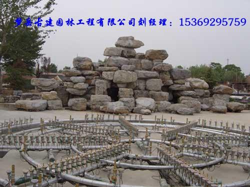 唐海县假山制作、唐海县哪有做假山的、假山厂家