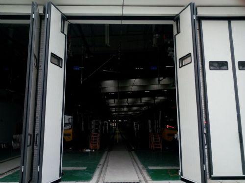 烟台厂房工业折叠门