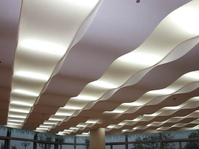 南京天幔膜结构室内软膜天花制造专家、走廊软膜天花