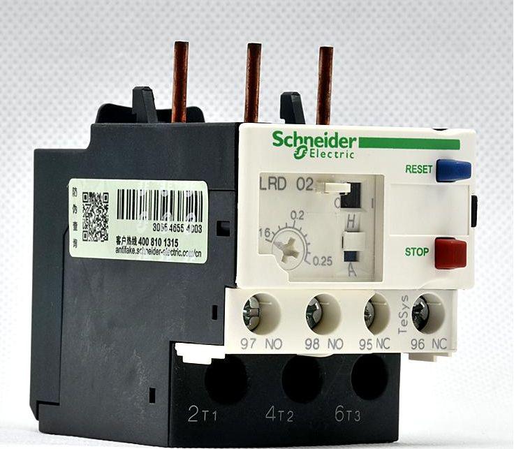 施耐德LRD22C热过载继电器 施耐德授权代理商