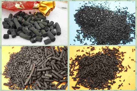大连高碘值950煤质柱状活性炭出厂价格