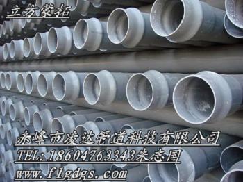 多伦PVC井壁管金日立方管道