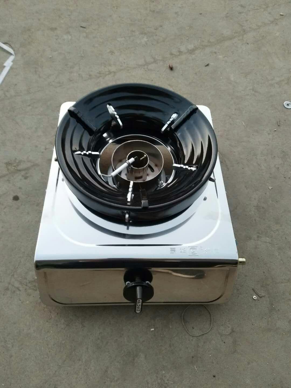 一键点火醇基燃料家用灶钢瓶加压无需预热