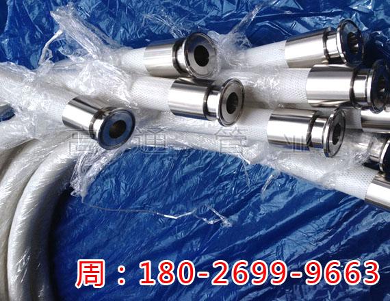 高档食品输送软管优质制药级药液输送硅胶钢丝软管厂家供应