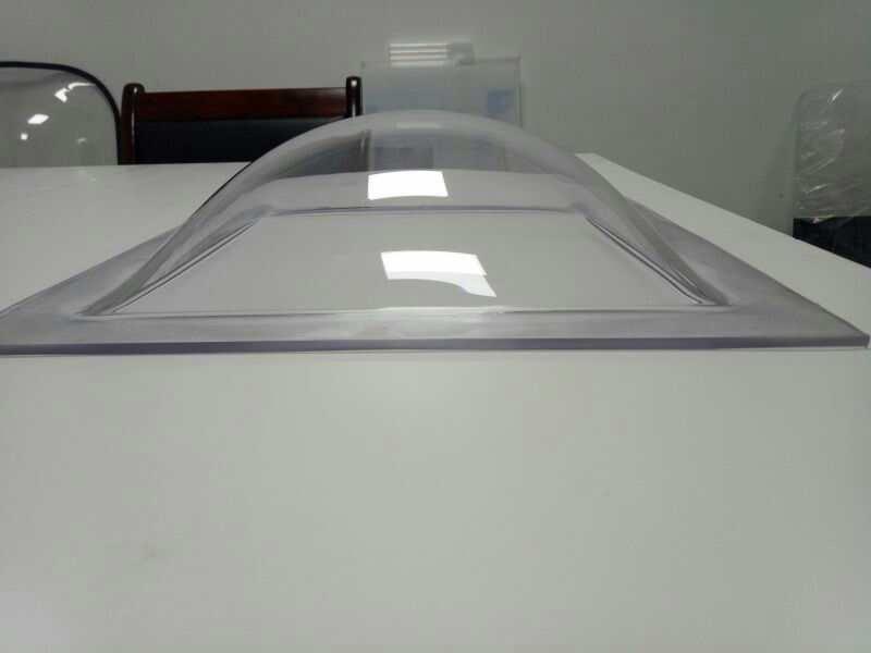 锥形采光罩阳光防雾滴、强力结构型、抗划伤、任意卷形、可铸塑成其它款件