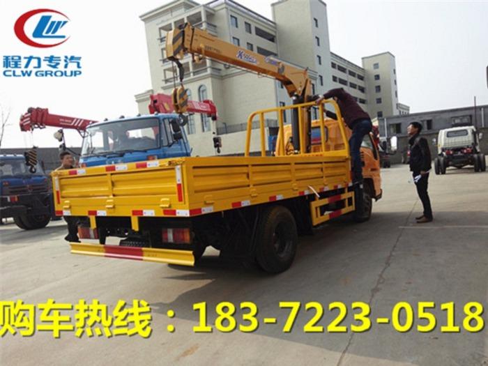 海南省4吨随车吊多少钱