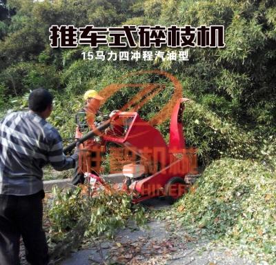 树枝木材粉碎机杨木思茅成功案例