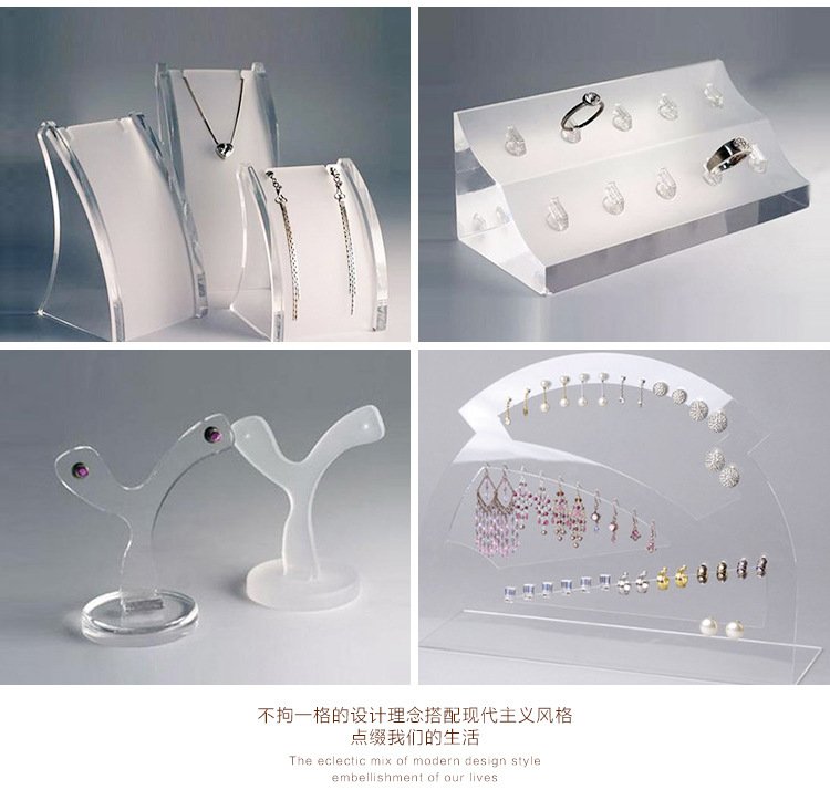 厂家直销 北京珠宝展柜珠宝首饰亚克力展示架 珠宝柜台制作