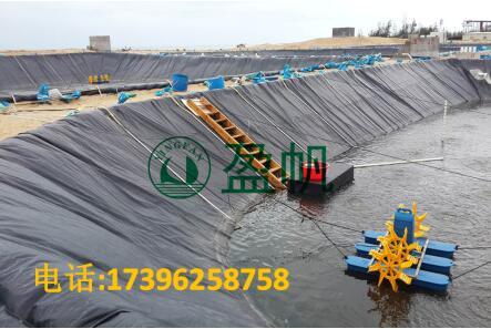HDPE防渗膜 鱼塘防渗膜 虾池HDPE膜 水产养殖HDPE防渗膜