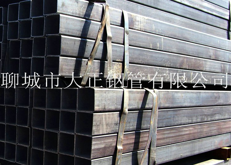 方管钢管边长80*65*1.7材质Q345