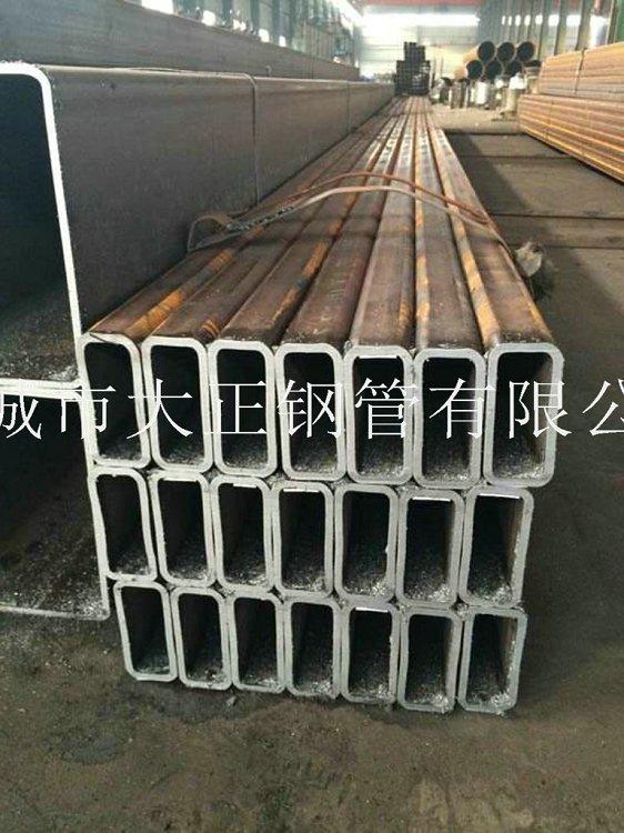 方管钢管边长80*55*2.5材质Q235