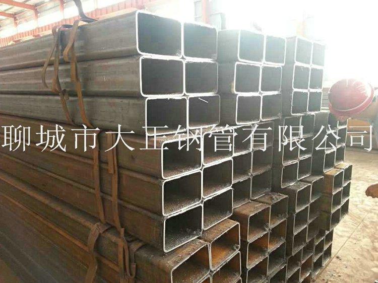方管钢管边长400*200*8材质20
