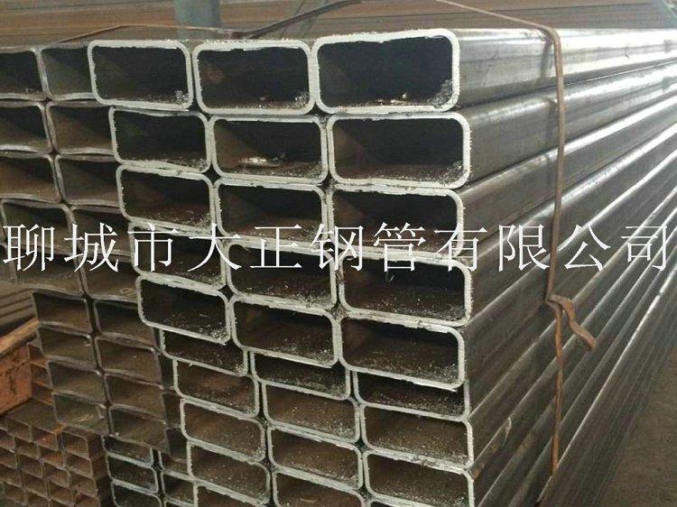方管钢管边长120*50*1.5材质Q345