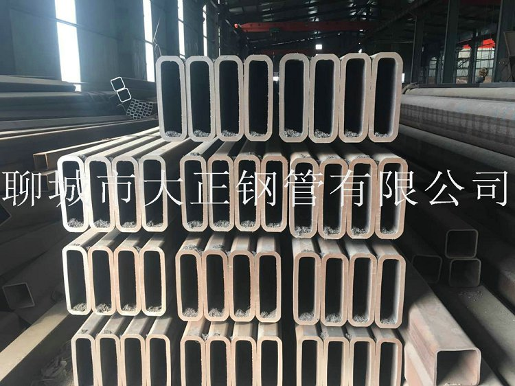 方管钢管边长80*30*2材质16Mn