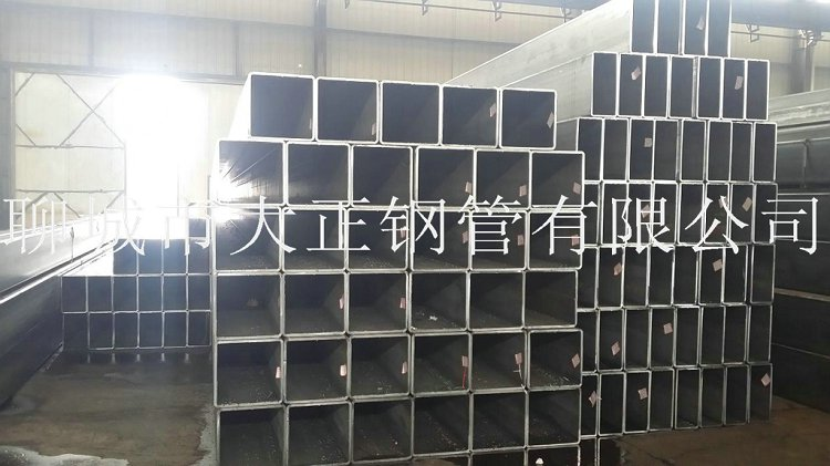 方管钢管边长140*95*13材质Q345