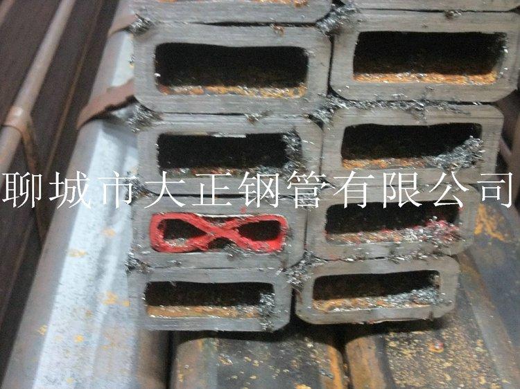 方管钢管边长140*100*2材质Q345