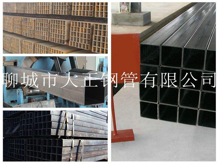 方管钢管边长80*55*2.5材质16Mn