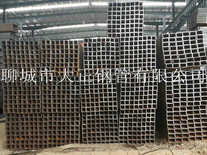 方管钢管边长120*50*1.6材质Q345