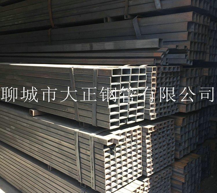 方管钢管边长140*95*12材质Q345D