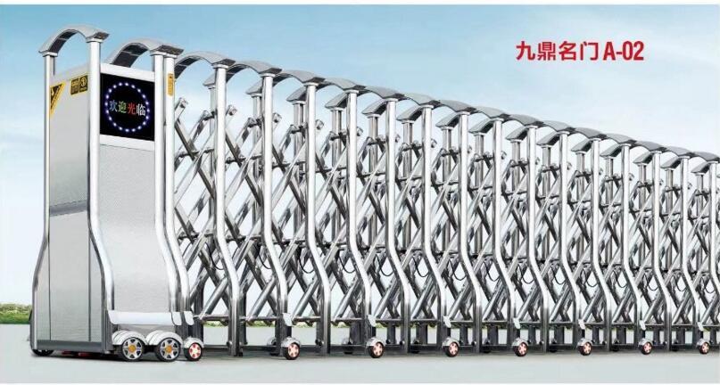 金寨县电动伸缩门-不锈钢电动门136-5565-1793测量量大从优_88必发娱乐平台招商代理信息