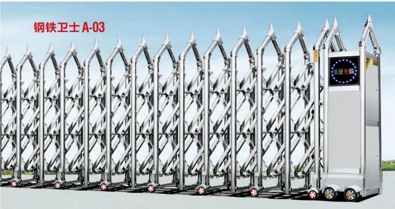 潜山县电动门伸缩门136-5565-1793厂家供应上门测量