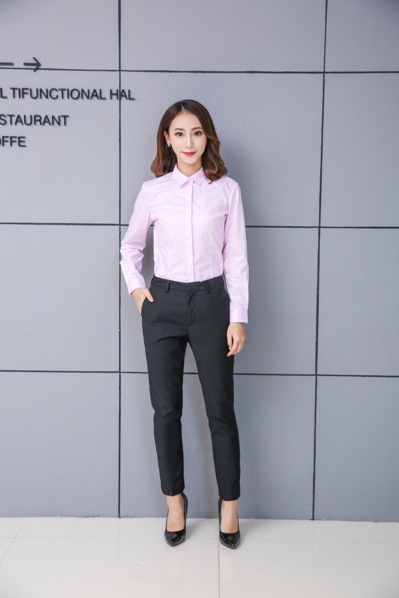 2017凯慕琪全新爆款长袖女衬衫