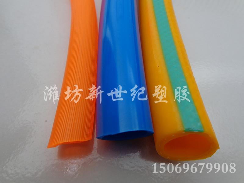 钢丝纤维增强耐磨复合软管 山东pvc增强纤维复合软管行情