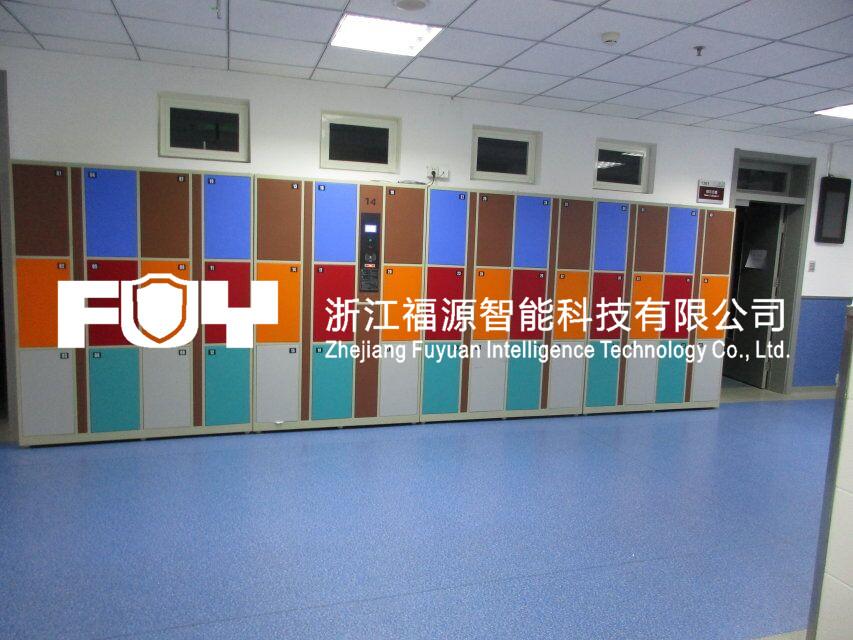学生存包柜 一卡通储物柜及图书馆寄存柜的应用-浙江福源