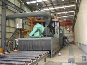江苏优质钢材预处理线生产厂-钢材预处理线生产厂家