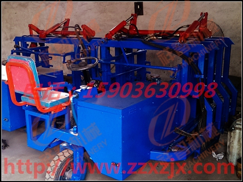 广西贵港双联标砖液压砖厂运输车操作灵活
