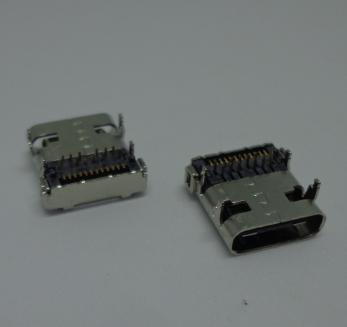 USB3.1 type C母座 华为手机小米手机充电接口