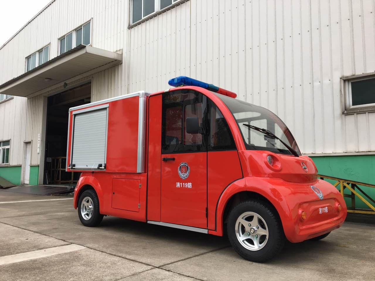 消防车电动带水箱可以加泡沫消防车