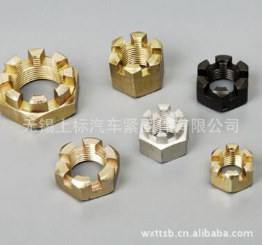 无锡高品质六角开槽薄螺母 细牙供应GB9459批售-江苏六角开槽薄螺母 细牙供应GB9459