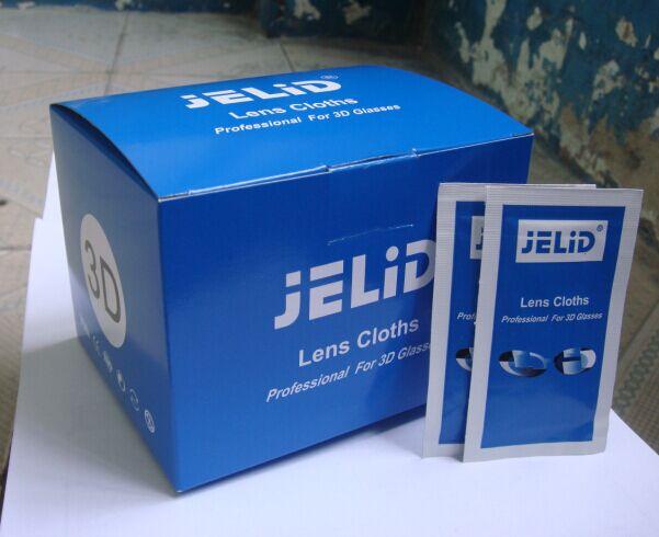 JELID3D眼镜清洁消毒纸、眼镜擦拭湿巾、镜片清洁纸【宝洁】