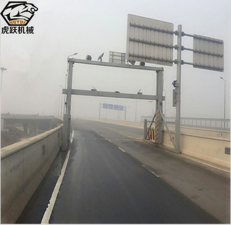 厂家定道路升降式限高架、公路电动遥控式限高架、小区全自动龙门限高架