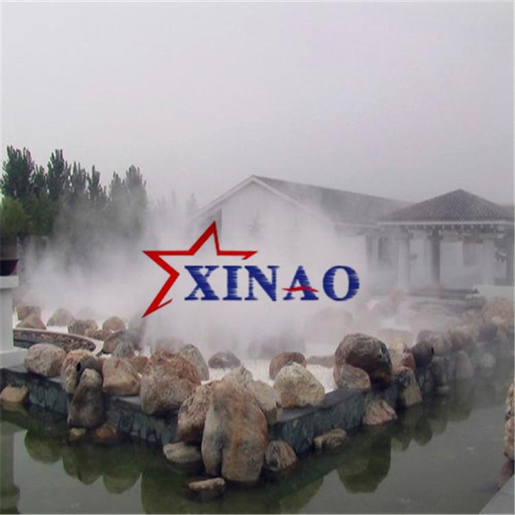 小区花园冷雾造景设备假山高压喷雾造景设备庭院喷雾造景设备