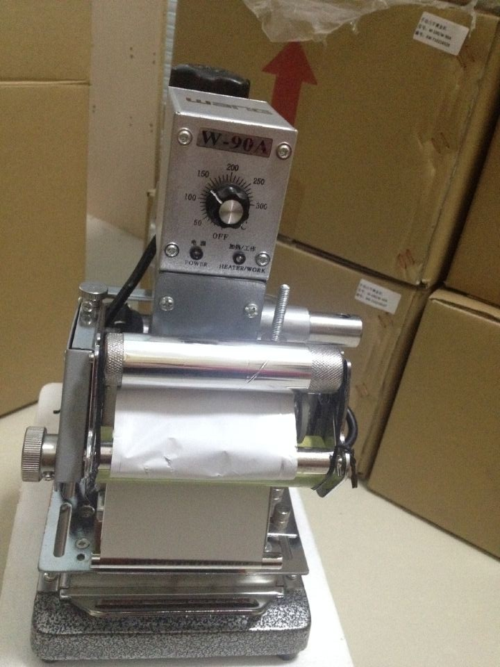 卡片印刷定位W-90A型手动烫金机