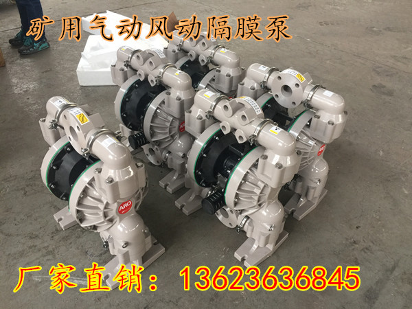 辽宁朝阳BQG1250.45风动隔膜泵进口防爆气动隔膜泵用途