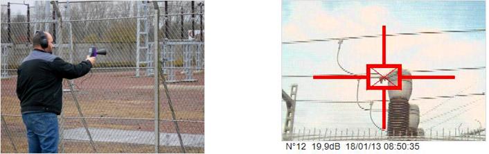 可视化超声波局部放电检测相机