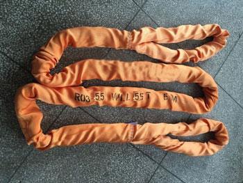 力夫特柔性吊带、大吨位圆形吊装带、软吊绳