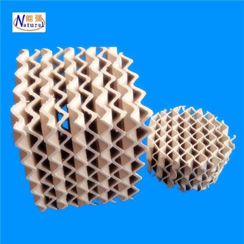 厂价供应陶瓷规整填料 规格型号齐全耐酸碱耐高温陶瓷波纹填料