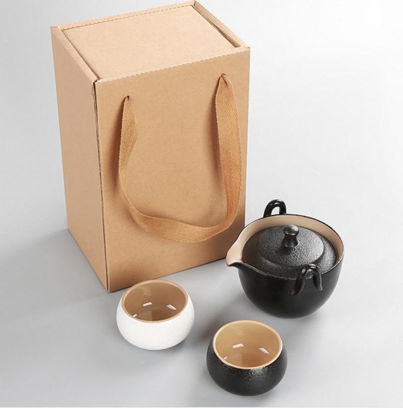 济南旅行茶具套装专卖 商务馈赠会议礼品高档快客杯批发团购