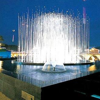 佛山小区雕塑喷泉