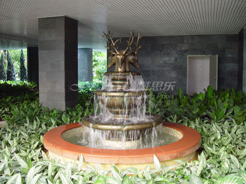 汕头办公楼喷泉设计